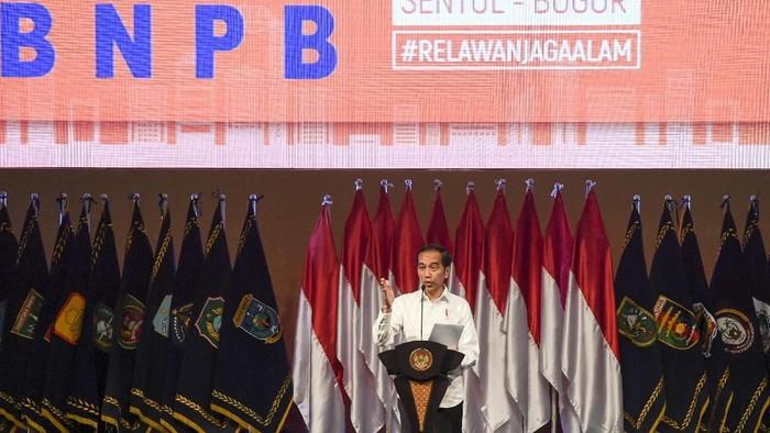 Presiden RI. Bpk Ir. H. Joko Widodo dalam penyampaian arahannya